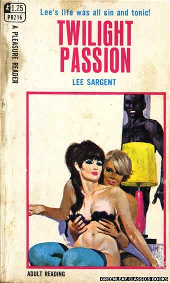 Pleasure Reader PR216 - Twilight Passion by Lee Sargent, cover art by Unknown (1969)
