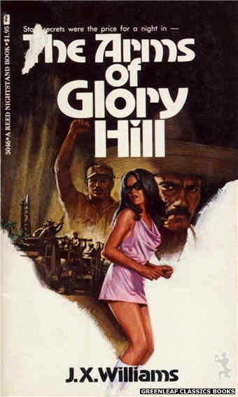 Reed Nightstand 3046 - The Arms of Glory Hill by J.X. Williams, cover art by Ed Smith (1973)
