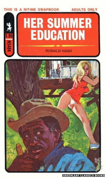 Nitime Swapbooks NS484 - Her Summer Education by Ronald Nash, cover art by Robert Bonfils (1972)