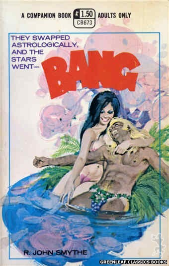 Companion Books CB673 - Bang by R. John Smythe, cover art by Robert Bonfils (1970)
