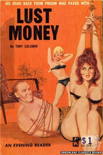 Evening Reader ER779 - Lust Money by Tony Calvano, cover art by Unknown (1965)