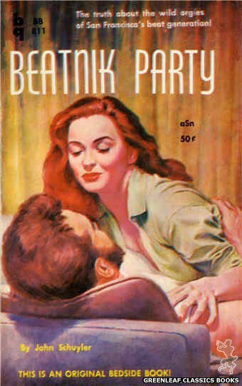 Bedside Books BB 811 - Beatnik Party by John Schuyler, cover art by Unknown (1959)