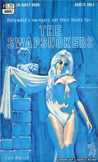 Adult Books AB492 - The Swapsuckers by Curt Aldrich, cover art by Darrel Millsap (1969)