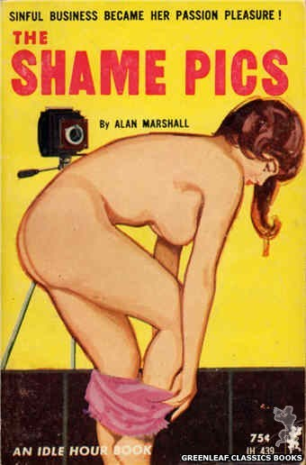 Idle Hour IH439 - The Shame Pics by Alan Marshall, cover art by Unknown (1965)