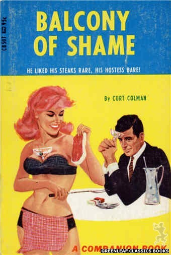 Companion Books CB507 - Balcony Of Shame by Curt Colman, cover art by Darrel Millsap (1967)