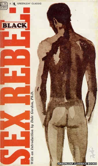 Greenleaf Classics GC323 - Sex Rebel: Black by Bob Greene, cover art by Unknown (1968)