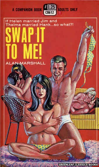 Companion Books CB612 - Swap It To Me! by Alan Marshall, cover art by Ed Smith (1969)