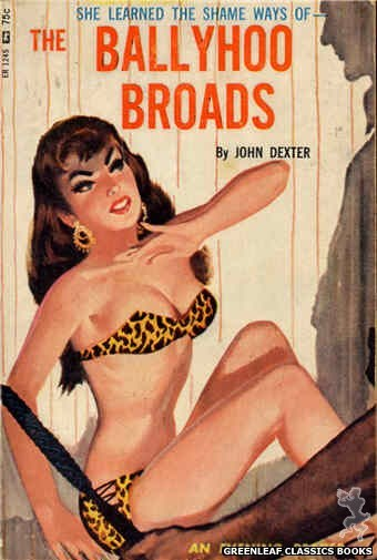 Evening Reader ER1245 - The Ballyhoo Broads by John Dexter, cover art by Unknown (1966)