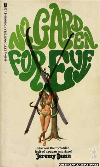 Reed Nightstand 4019 - No Garden For Eve by Jeremy Dunn, cover art by Ed Smith (1974)