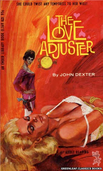 Ember Library EL 369 - The Love Adjuster by John Dexter, cover art by Darrel Millsap (1967)