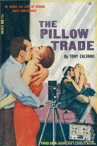 Nightstand Books NB1813 - The Pillow Trade by Tony Calvano, cover art by Unknown (1966)