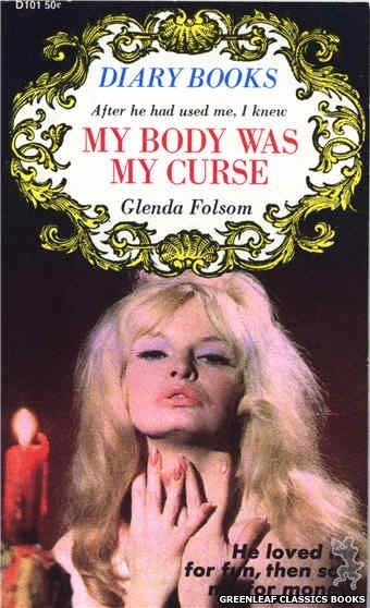 One Shots D101 - My Body Was My Curse by Glenda Folsom, cover art by Photo Cover (1967)