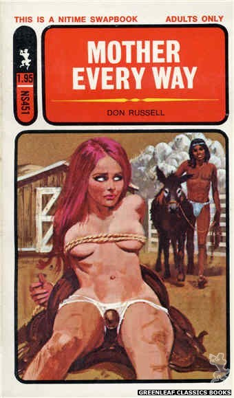 Nitime Swapbooks NS451 - Mother Every Way by Don Russell, cover art by Robert Bonfils (1971)