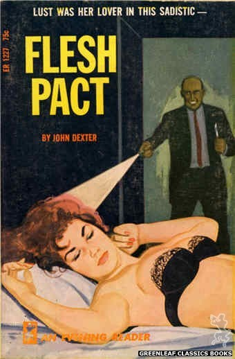 Evening Reader ER1227 - Flesh Pact by John Dexter, cover art by Unknown (1966)