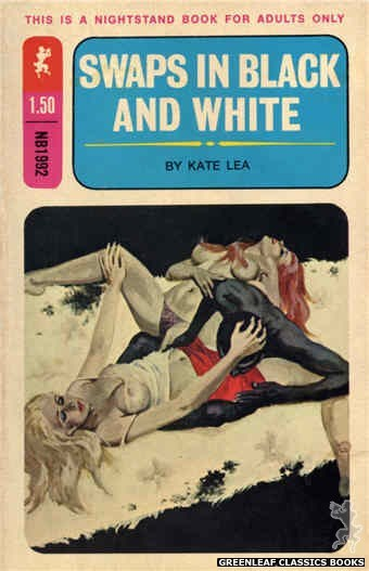 Nightstand Books NB1992 - Swaps In Black And White by Kate Lea, cover art by Robert Bonfils (1970)