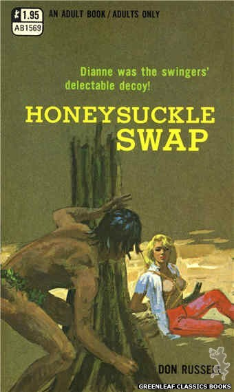 Adult Books AB1569 - Honeysuckle Swap by Don Russell, cover art by Unknown (1971)