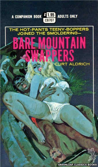 Companion Books CB707 - Bare Mountain Swappers by Curt Aldrich, cover art by Robert Bonfils (1971)