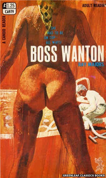 Candid Reader CA979 - Boss Wanton by Ray Majors, cover art by Unknown (1969)
