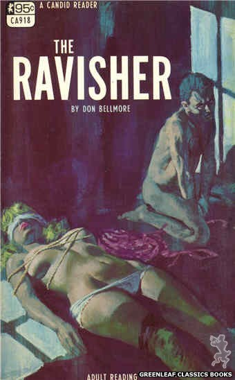 Candid Reader CA918 - The Ravisher by Don Bellmore, cover art by Robert Bonfils (1968)