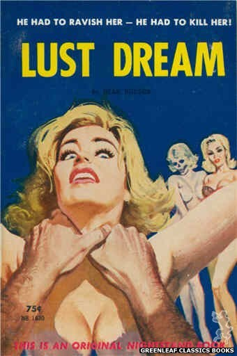 Nightstand Books NB1630 - Lust Dream by Dean Hudson, cover art by Robert Bonfils (1962)