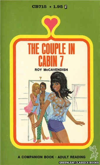 Companion Books CB715 - The Couple In Cabin 7 by Roy McCavendish, cover art by Unknown (1971)