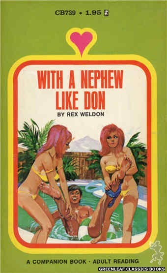Companion Books CB739 - With A Nephew Like Don by Rex Weldon, cover art by Unknown (1971)