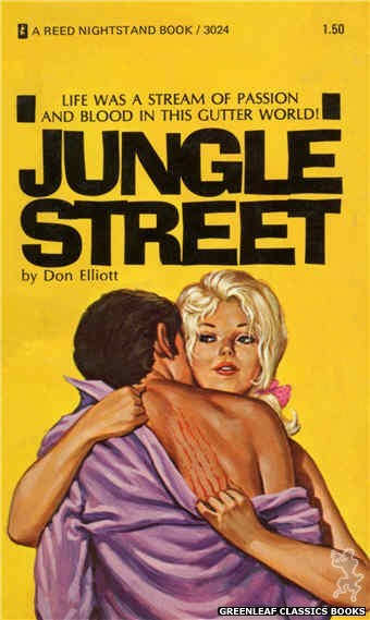 Reed Nightstand 3024 - Jungle Street by Don Elliott, cover art by Ed Smith (1973)