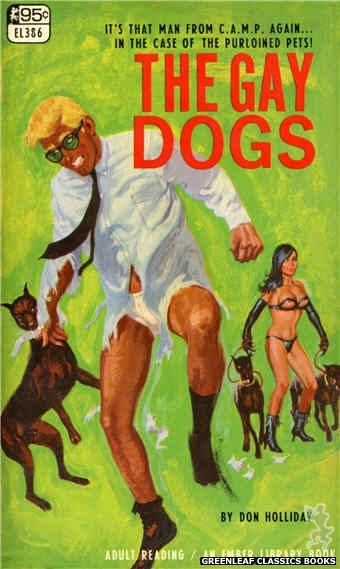 Ember Library EL 386 - The Gay Dogs by Don Holliday, cover art by Robert Bonfils (1967)