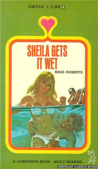 Companion Books CB719 - Sheila Gets It Wet by Brad Roberts, cover art by Unknown (1971)