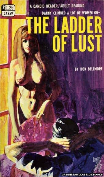 Candid Reader CA959 - The Ladder Of Lust by Don Bellmore, cover art by Unknown (1968)
