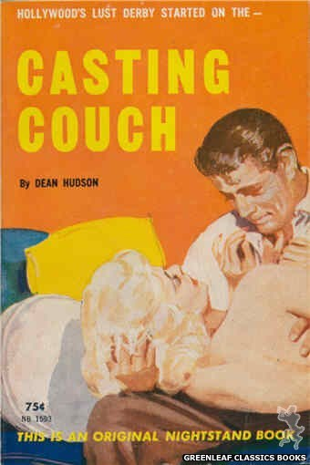 Nightstand Books NB1593 - Casting Couch by Dean Hudson, cover art by Harold W. McCauley (1962)