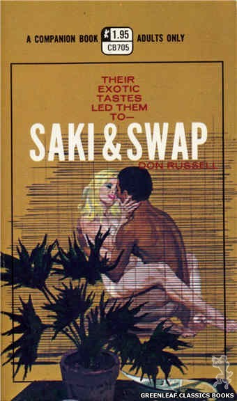 Companion Books CB705 - Saki & Swap by Don Russell, cover art by Robert Bonfils (1971)