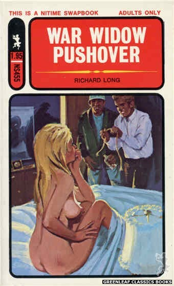 Nitime Swapbooks NS455 - War Widow Pushover by Richard Long, cover art by Unknown (1971)