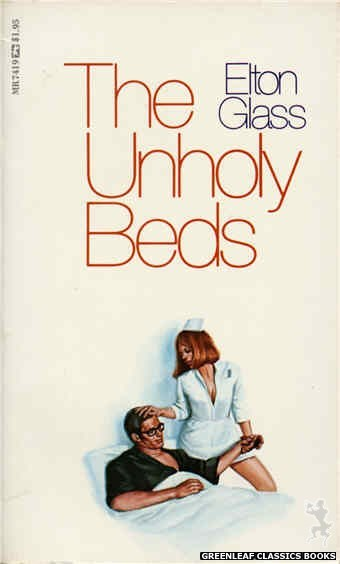 Midnight Reader 1974 MR7419 - The Unholy Beds by Elton Glass, cover art by Unknown (1974)