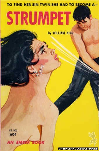 Ember Books EB903 - Strumpet by William King, cover art by Unknown (1963)