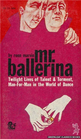 Regency Books RB103 - Mr. Ballerina by Ronn Marvin, cover art by The Dillons (1961)