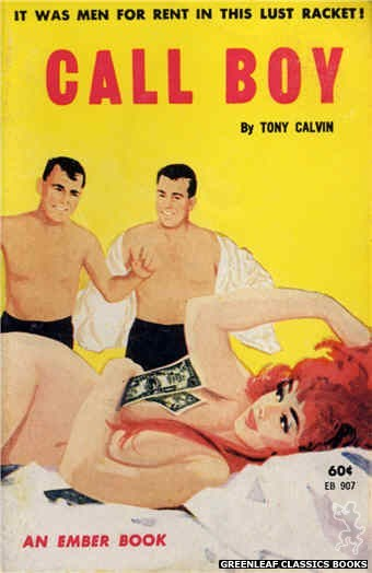 Ember Books EB907 - Call Boy by Tony Calvin, cover art by Unknown (1963)