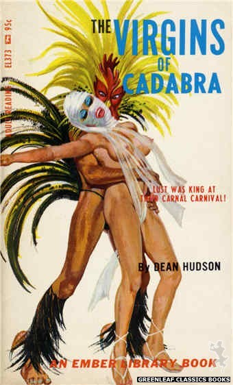 Ember Library EL 373 - The Virgins of Cadabra by Dean Hudson, cover art by Robert Bonfils (1967)
