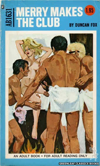 Adult Books AB1631 - Merry Makes The Club by Duncan Fox, cover art by Unknown (1972)