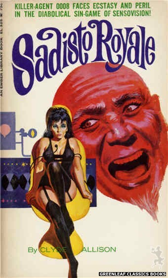 Ember Library EL 325 - Sadisto Royale by Clyde Allison, cover art by Robert Bonfils (1966)