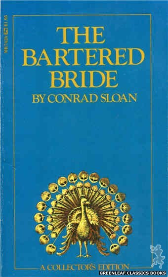 Midnight Reader 1974 MR7426 - The Bartered Bride by Conrad Sloan, cover art by Text + Decoration (1974)