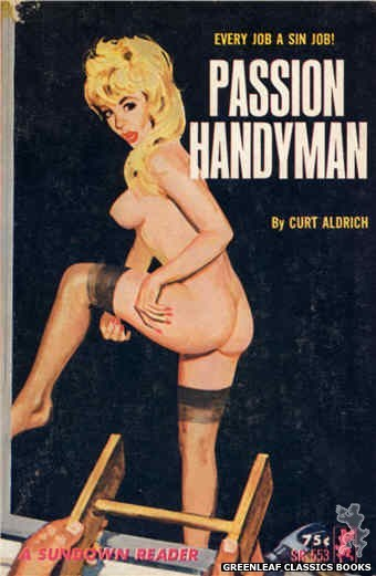 Sundown Reader SR553 - Passion Handyman by Curt Aldrich, cover art by Unknown (1965)