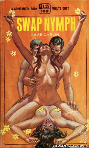 Companion Books CB620 - Swap Nymph by Gage Carlin, cover art by Ed Smith (1969)