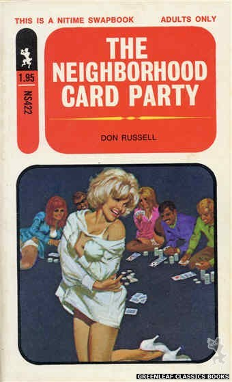 Nitime Swapbooks NS422 - The Neighborhood Card Party by Don Russell, cover art by Robert Bonfils (1971)
