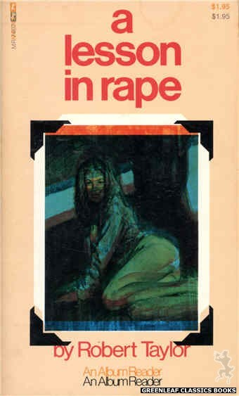 Midnight Reader 1974 MR7497 - A Lesson In Rape by Robert Taylor, cover art by Unknown (1974)