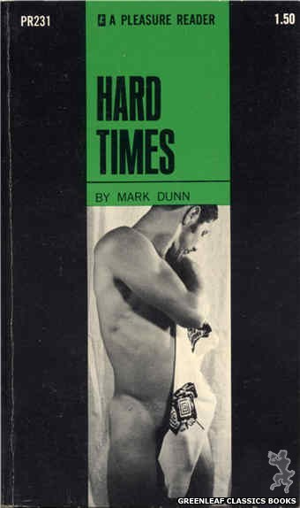 Pleasure Reader PR231 - Hard Times by Mark Dunn, cover art by Photo Cover (1969)