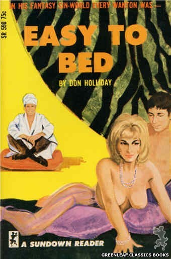 Sundown Reader SR590 - Easy to Bed by Don Holliday, cover art by Unknown (1966)
