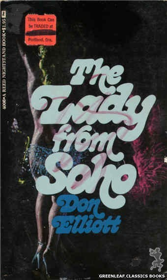 Reed Nightstand 4008 - The Lady From Soho by Don Elliott, cover art by Ed Smith (1974)