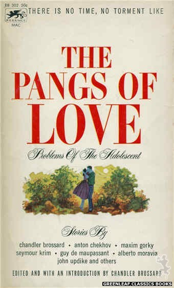Regency Books RB302 - The Pangs Of Love by Chandler Brossard (Editor), cover art by Ron Bradford (1962)