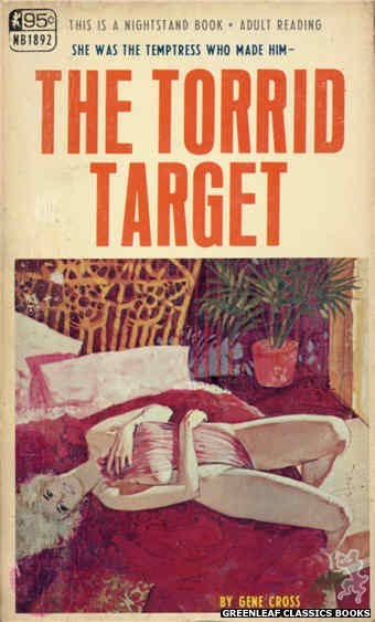 Nightstand Books NB1892 - The Torrid Target by Gene Cross, cover art by Unknown (1968)